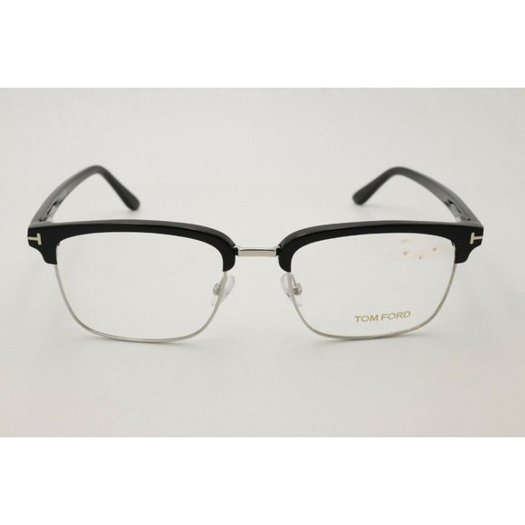 Authentic Tom Ford FT 5504 005 Black//other Eyeglasses